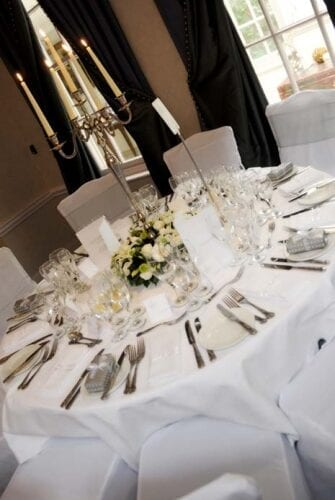 Decorated Table at Catering Event